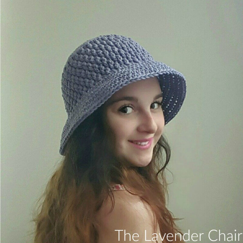 Free Crochet Summer Hat Patterns For Adults : Brickwork Summer Sun Hat (Adult) Crochet Pattern - The ...