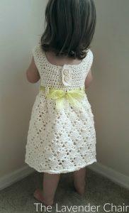 Vintage Toddler Dress - Free Crochet Pattern - The Lavender Chair