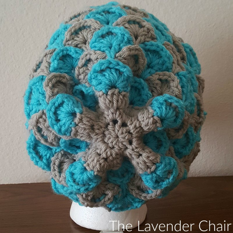Shelby's Slouchy Beanie Back- Free Crochet Pattern - The Lavender Chair