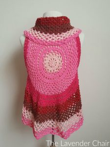 Pocket Full of Posies Vest - Free Crochet Pattern - The Lavender Chair 1