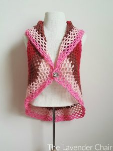 Pocket Full of Posies Vest - Free Crochet Pattern - The Lavender Chair 2