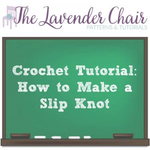 Read more about the article Crochet Tutorial: How To Make A Slip Knot
