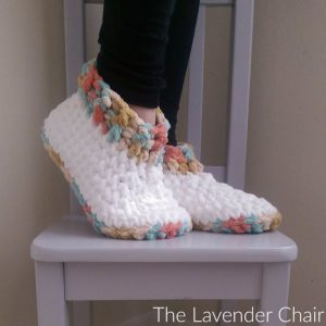 Cloud 9 Slippers Crochet Pattern