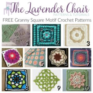 Read more about the article FREE Granny Square Motif Crochet Patterns