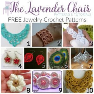 FREE Jewelry Crochet Patterns