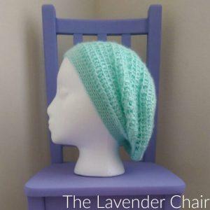 Spring Flower Slouch Crochet Pattern
