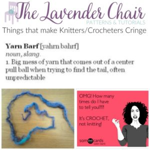 6 Things That Make Crocheters/Knitters Cringe