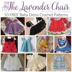 graphic regarding Printable Angel Gown Patterns named Cost-free Child Gown Crochet Routines - The Lavender Chair