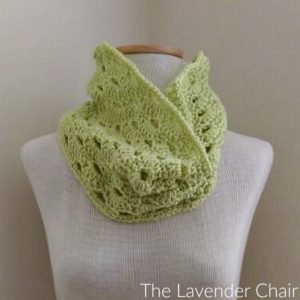 Stacked Shells Cowl Crochet Pattern