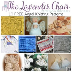 10 FREE Angel Knitting Patterns