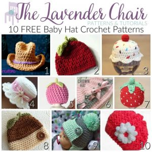 FREE Baby Hat Crochet Patterns