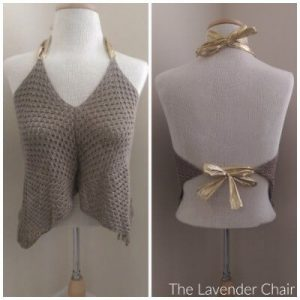 Granny Crop Top Crochet Pattern