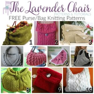 FREE Purse/Bag Knitting Patterns