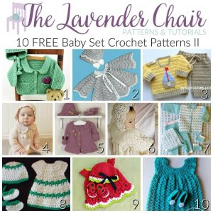 FREE Baby Set Crochet Patterns II