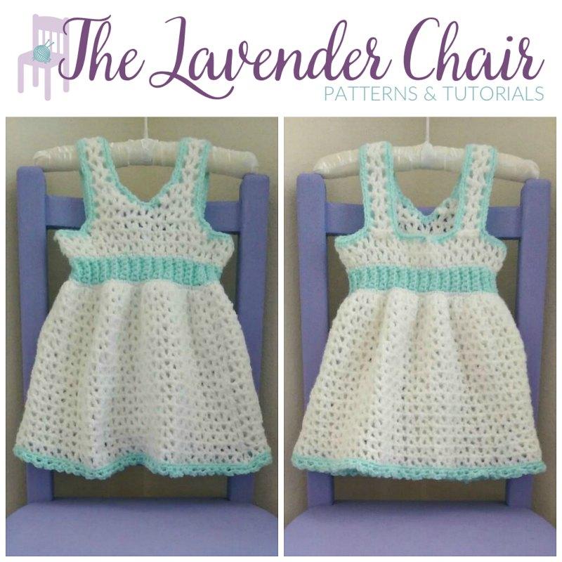 Valerie's First Birthday Dress - Free Crochet Pattern - The Lavender Chair
