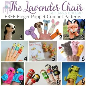 FREE Finger Puppet Crochet Patterns