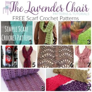 9 Gorgeous FREE Scarf Crochet Patterns