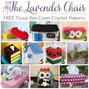 FREE Tissue Box Cover Crochet Patterns