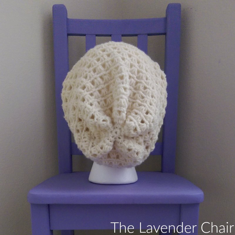 Lazy Daisy Slouchy Beanie - Free Crochet Pattern - The Lavender Chair