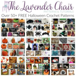 Over 50+ Halloween Crochet Patterns- The Lavender Chair