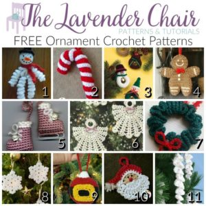 Crochet Christmas Ornaments Patterns | The WHOot | 300x300