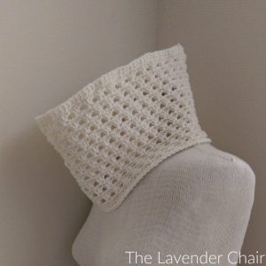 Lazy Daisy Cowl Crochet Pattern
