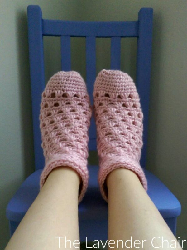 Lazy Dasy Socks - Free Crochet Pattern - The Lavender Chair