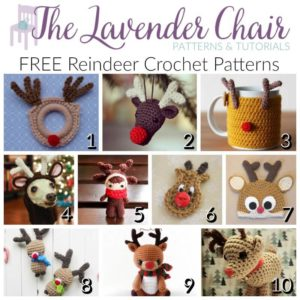 Read more about the article FREE Reindeer Crochet Patterns