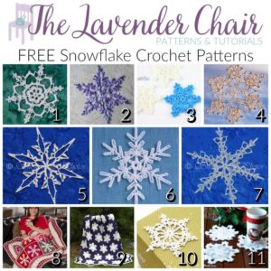 Read more about the article Dainty and FREE Snowflake Crochet Patterns