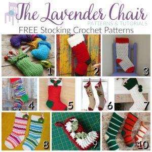 FREE Stocking Crochet Patterns
