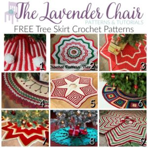Make a nice tree skirt with one of these Free Crochet Tree Skirt Patterns.