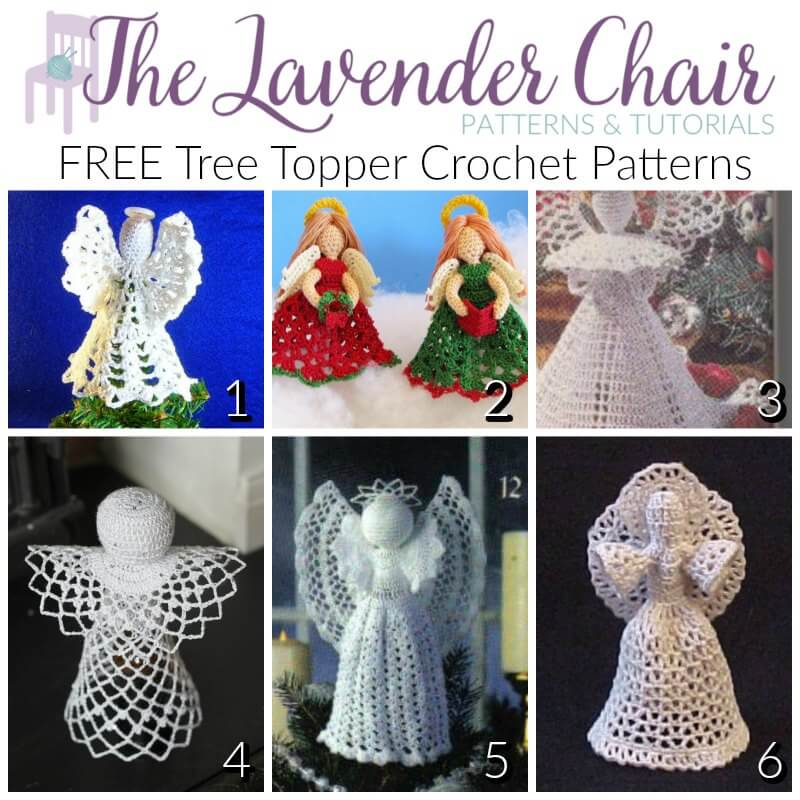10 Amigurumi Christmas Angel Doll Free Crochet Pattern and Paid ... | 800x800