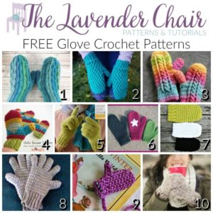 Gorgeous FREE Glove Crochet Patterns