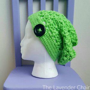 Clover Puff Slouchy Beanie Crochet Pattern