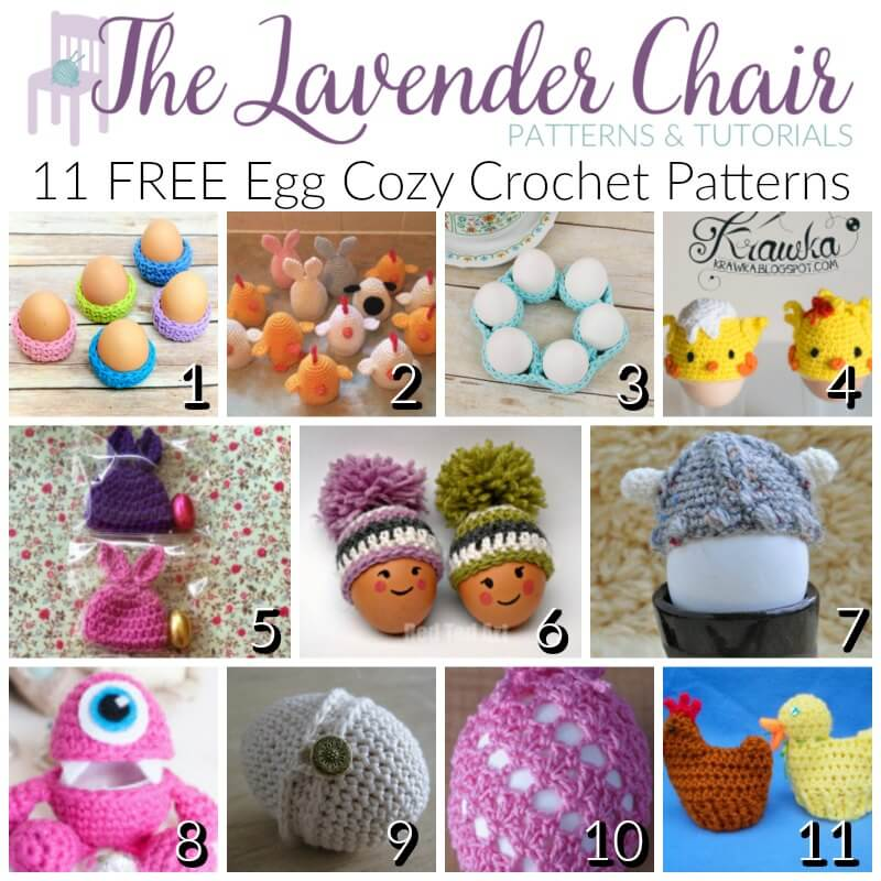 How to Crochet Easter Eggs - Free Pattern & Tutorial - YouTube | 800x800
