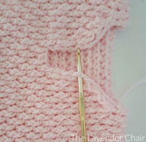 Brickwork Baby Vest - Free Crochet Pattern - The Lavender Chair