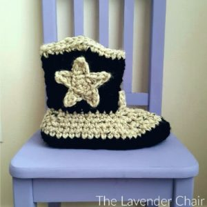 Read more about the article Chunky Cowboy Slippers Crochet Pattern