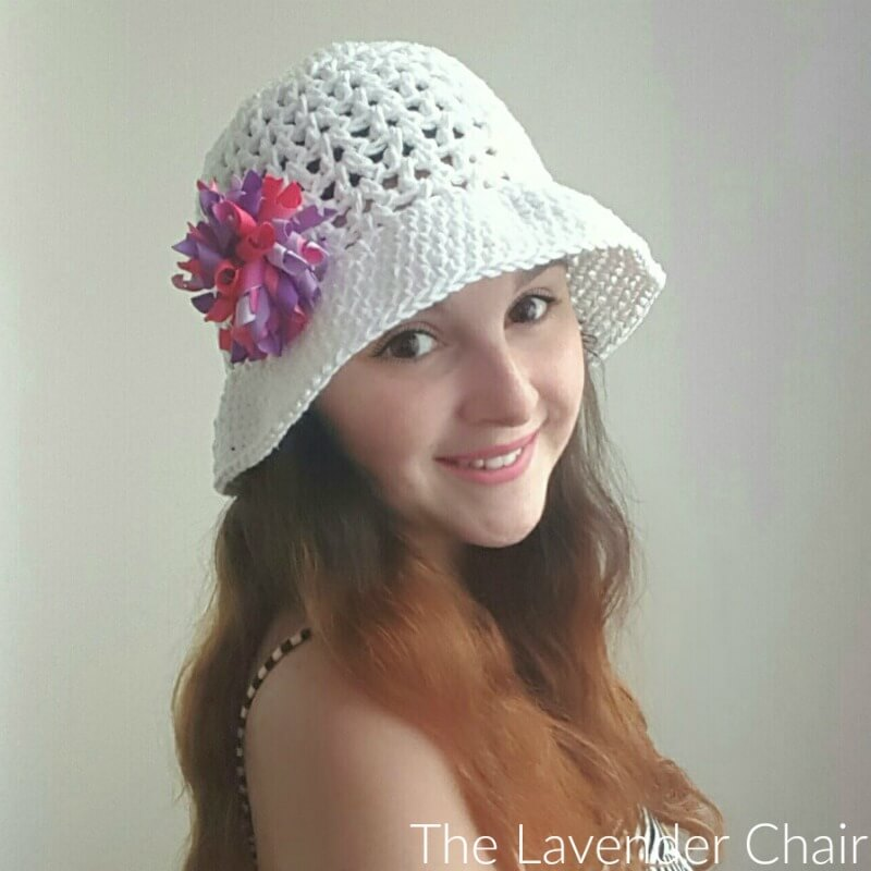 Valerie's Summer Sun Hat - Free Crochet Pattern - The Lavender Chair