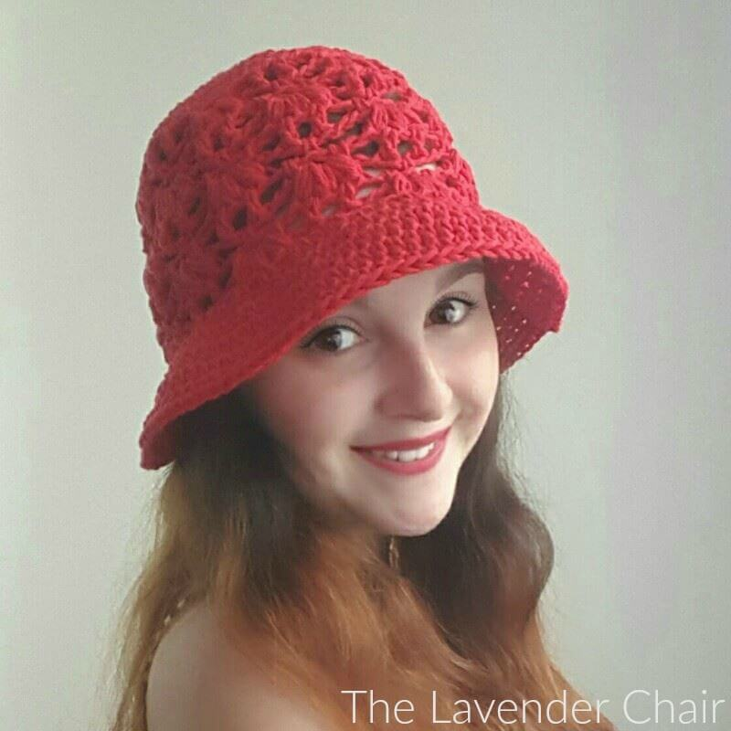 Weeping Willow Sun Hat - Free Crochet Pattern - The Lavender Chair