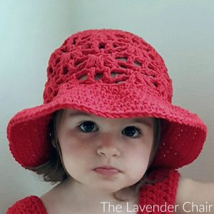 Read more about the article Weeping Willow Sun Hat for (Infant – Child) Crochet Pattern
