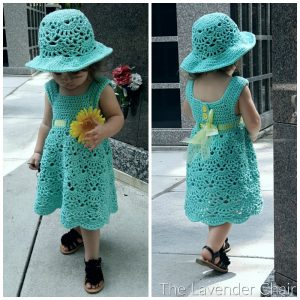 Read more about the article Lacy Shells Dress Crochet Pattern