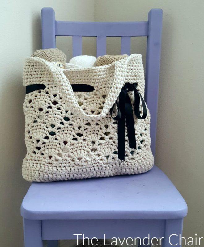 Crochet Market Bag  Shopping Bag  Tote Bag  Beach Bag