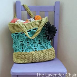 Wheat Fields Market Tote Crochet Pattern