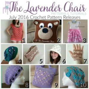 July 2016 Crochet Pattern Releases