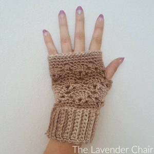 Vintage Fingerless Gloves Crochet Pattern