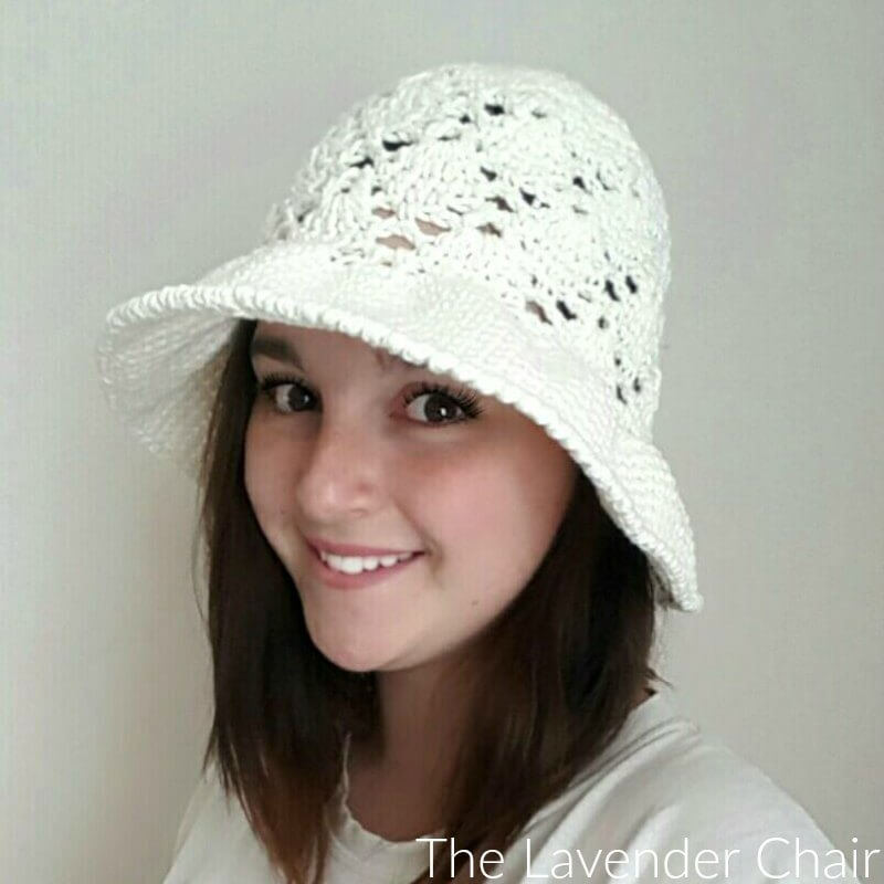 Vintage Sun Hat (Adult) - Free Crochet Pattern - The Lavender Chair