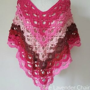Read more about the article Gemstone Lace Poncho (Adult) Crochet Pattern