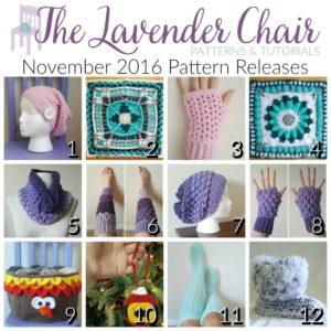 November 2016 Crochet Pattern Releases