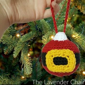 Santa's Christmas Ornament Crochet Pattern