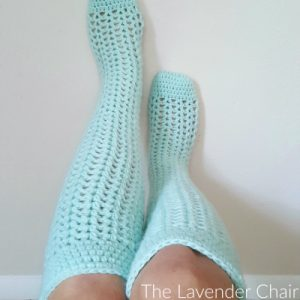 Valerie's Knee High Socks Crochet Pattern